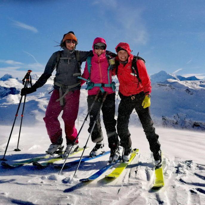 Ski de rando, Alpes, Morzine, Ski