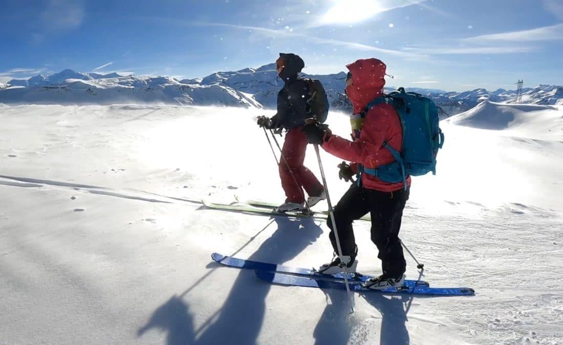 ski alpin, ski de Rando, Avoriaz, Morzine