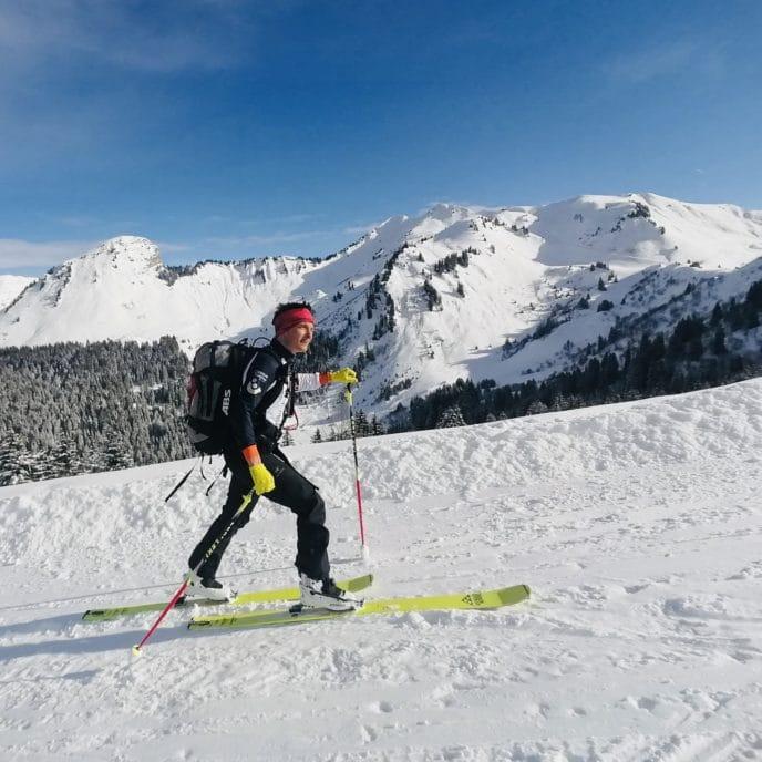 Ski de rando, Alpes, Morzine, Avoriaz, Ski